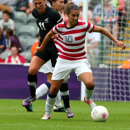 US Women's Soccer Players For 2012 Olympics