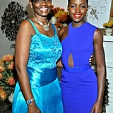 Lupita's mother, Dorothy, was by her side for the event.