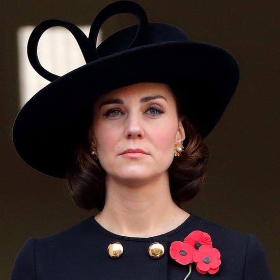 Duchess of Cambridge Remembrance Sunday 2017 Hair