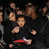 When Kim Handed Her Snacks During New York Fashion Week