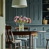 Smoky-Green Kitchens