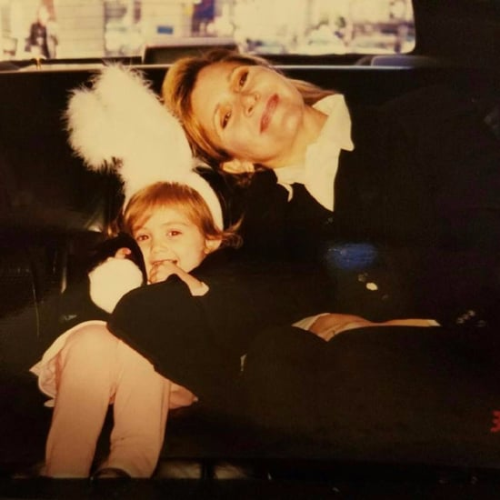 Billie Lourd Instagram Photo With Mom Carrie Fisher 2017