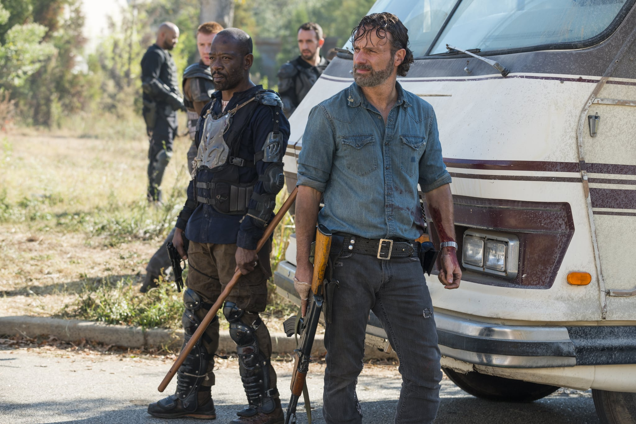 """In """"Are You Freakin' Kidding Me"""" News, We Now Know Rick Won't Make It Out of TWD Alive"""
