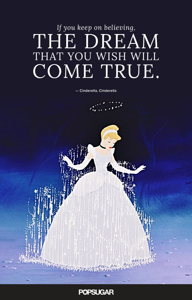 Disney Wedding Quotes Amazing If You Keep On Believing The Dream That You Wish Will Come True