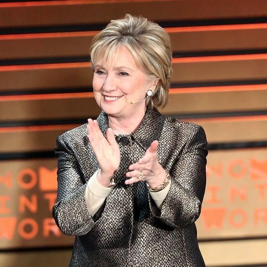 Hillary Clinton Wearing Katy Perry Heels