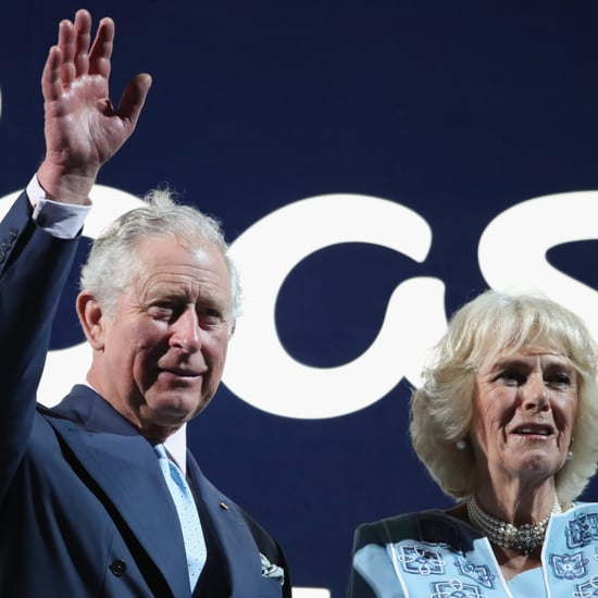 Prince Charles and Camilla at the Commonwealth Games 2018