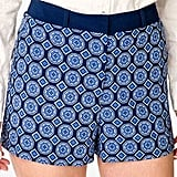 These Forever 21 scarf-print shorts ($13) are amazing in print and in price.