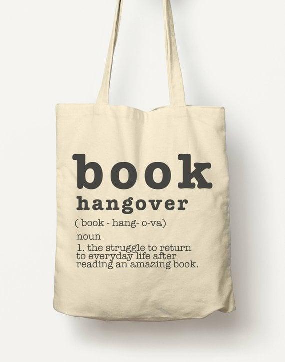 Book Hangover Tote Bag ($26)