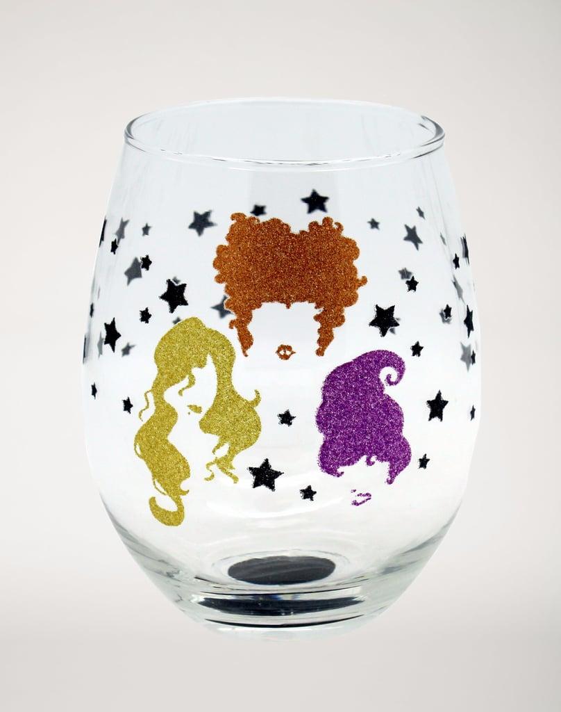 Hocus Pocus Stemless Glass ($7)