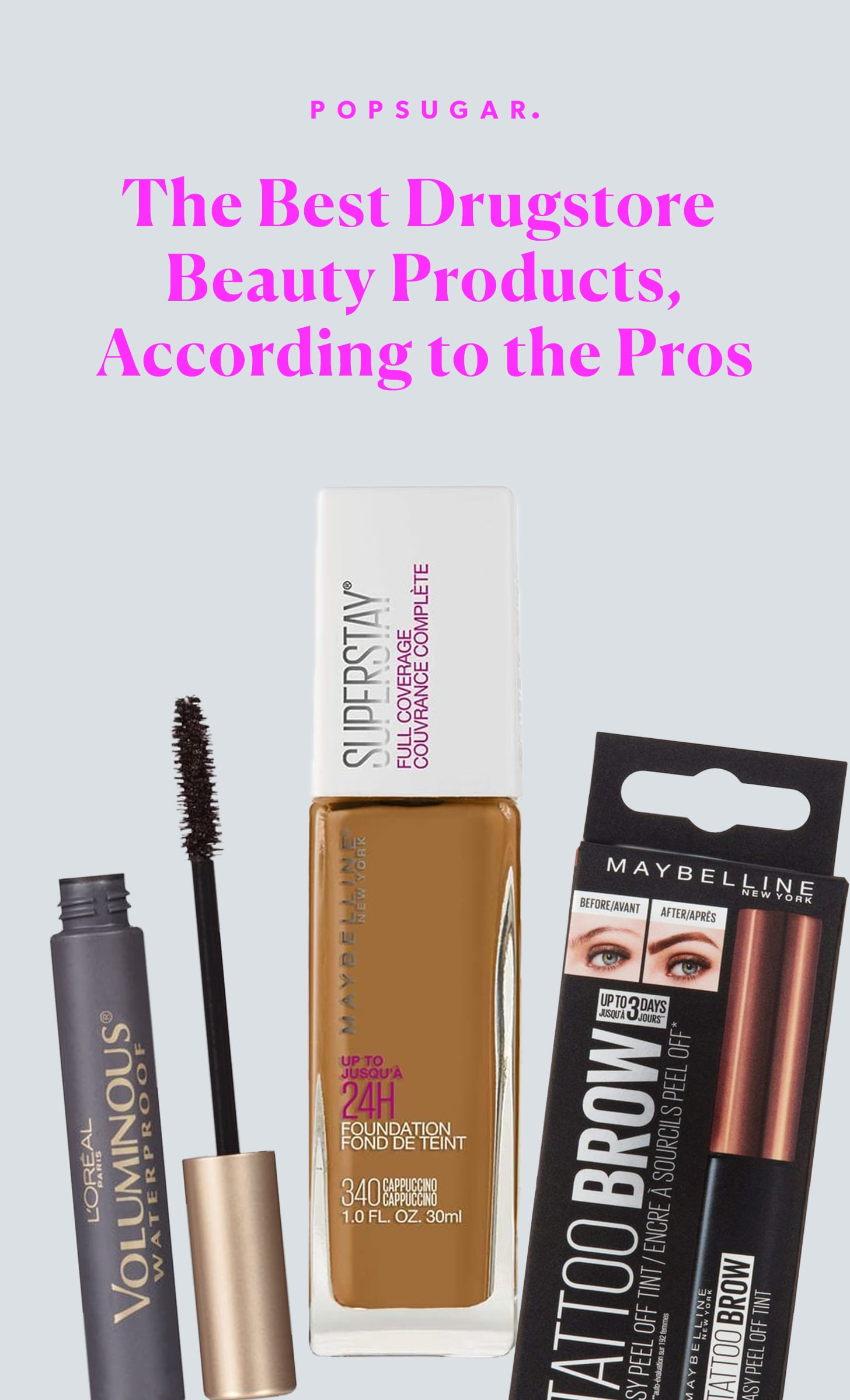 Best Drugstore Beauty Products According To The Pros Popsugar Beauty