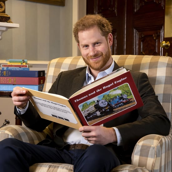 Prince Harry Hosts Thomas & Friends The Royal Engine Episode