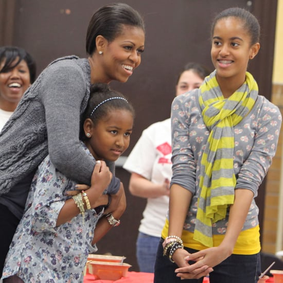 Michelle Obama's Best Mom Moments (Video)