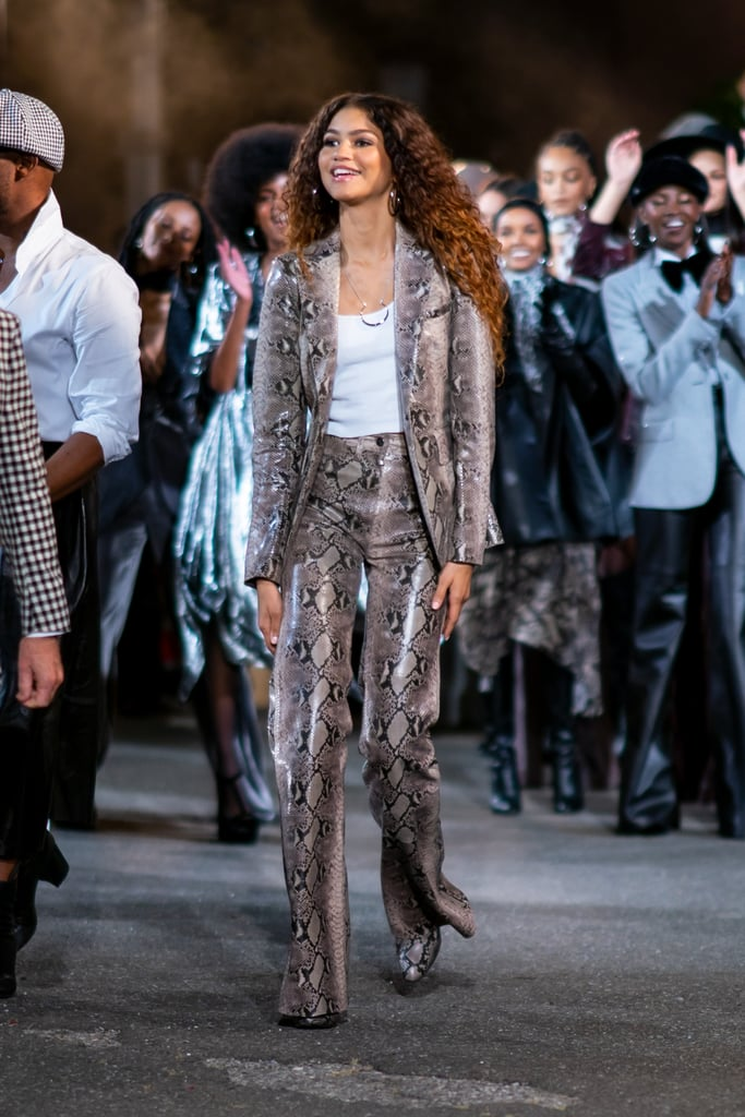 Zendaya at Her Runway Show With Tommy Hilfiger
