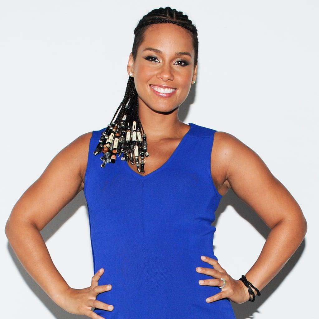 Alicia Keys at the Barneys New York x Nars Cosmetics 20th Anniversary Celebration