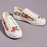 Keds Embroidered Platform Sneakers