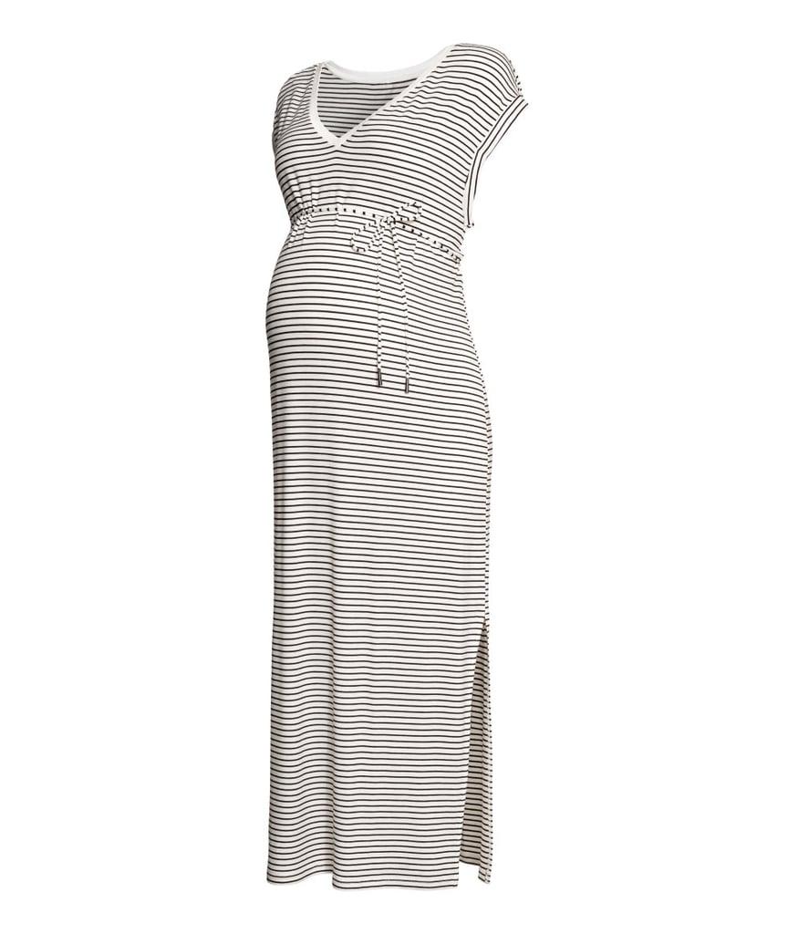 560df7969f2ee H&M MAMA Jersey Dress | Cute Maternity Clothes Summer | POPSUGAR ...