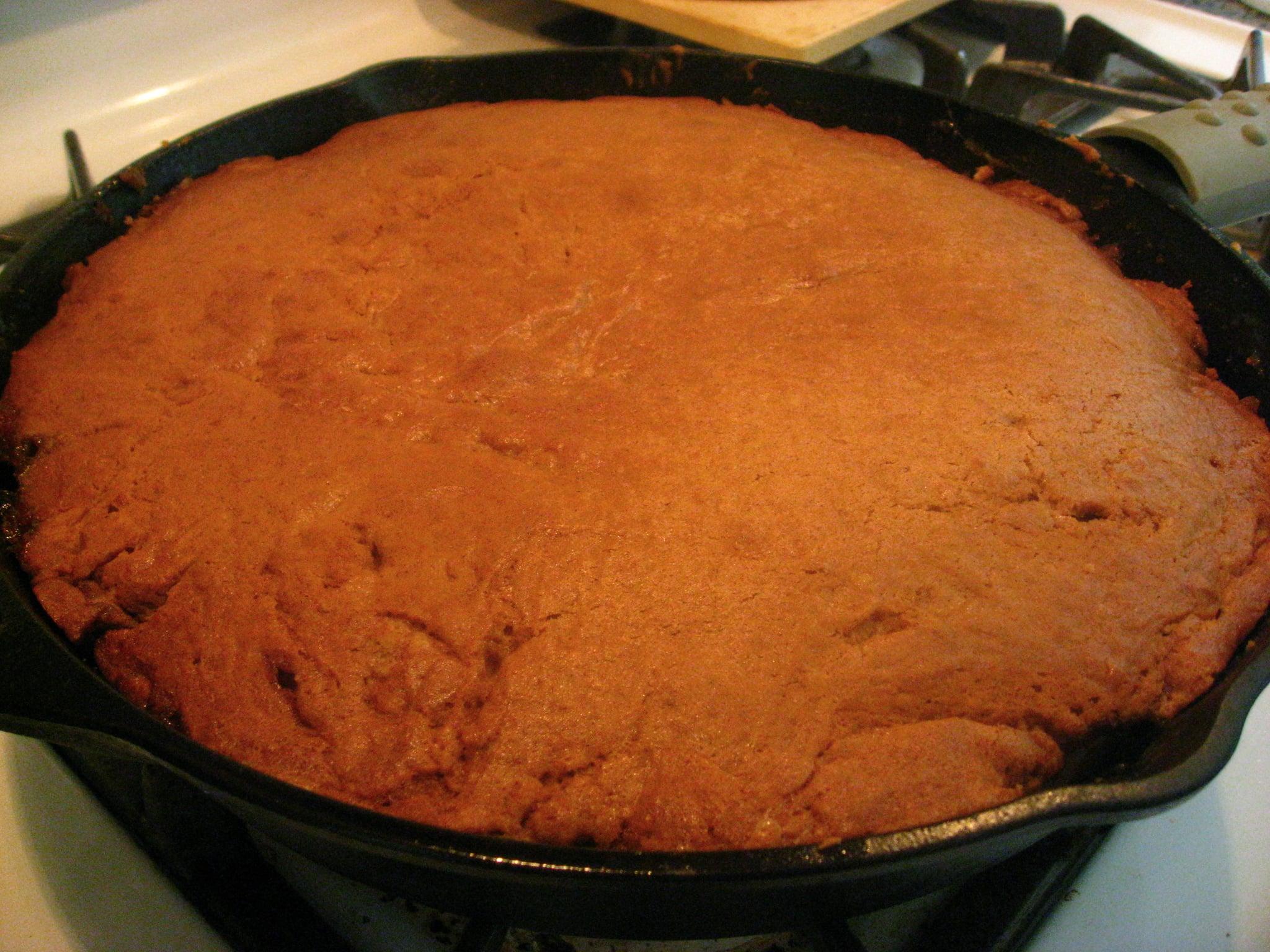 52 Weeks Of Baking Ginger Peach Upside Down Cake