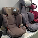 Maxi-Cosi's RadiFix Booster has a back that expands (much like a rib cage) when the headrest is raised.
