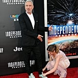 When She Lent a Hand to German Director Roland Emmerich