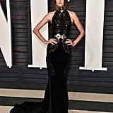 Alessandra Ambrosio at the Vanity Fair Oscars Party
