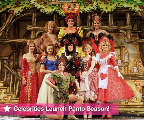 Photos of Celebrities in Pantomime Costumes Christmas 2009 Including Joanna Page, Henry Winkler