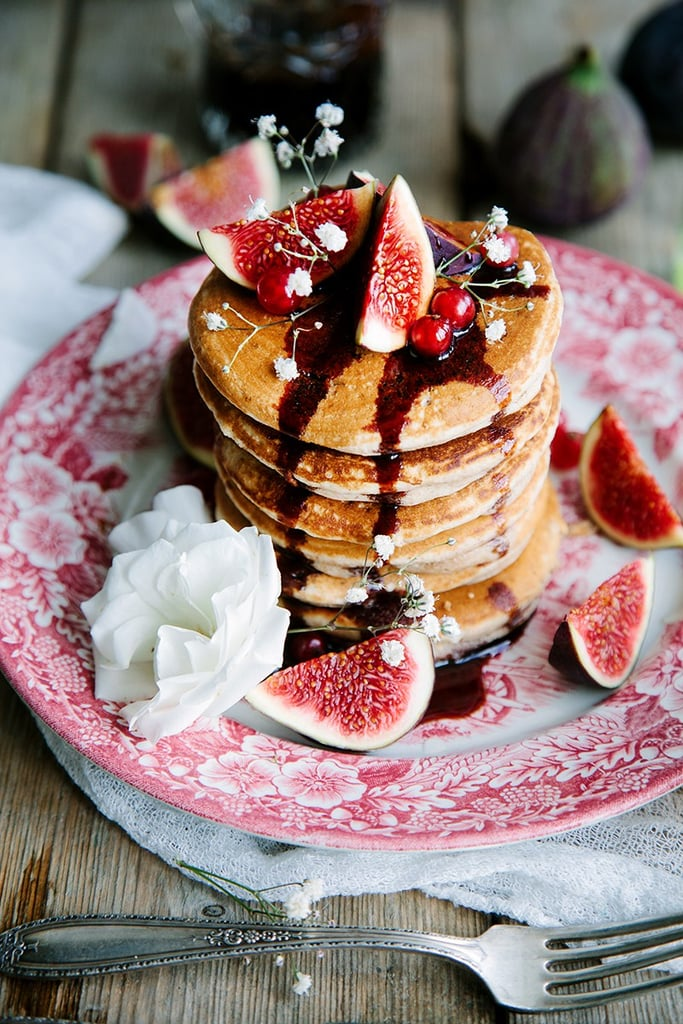 Fluffy Vegan Pancakes