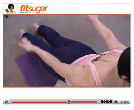 Free Exercise Video: Back Exercise with Physio Ball