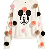 Sweatshirt with Pompoms ($35)