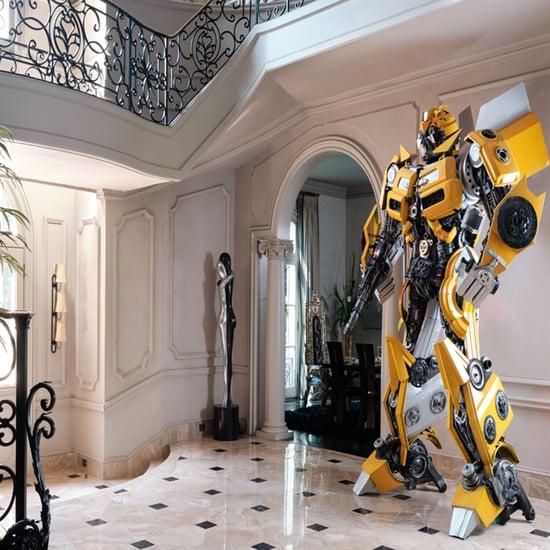 Tyrese Gibson's Atlanta House Tour Includes 2 Transformers