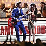 She joined Mark Ronson on stage at the Brit Awards in February 2008.