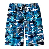 1fca75bd0e ... Hanna Andersson Sea Camo Trunks Janie & Jack Lobster Swim Trunks Lands'  End Deep Sea Octopus Board Shorts L.L. Bean Caribbean Blue Fish ...