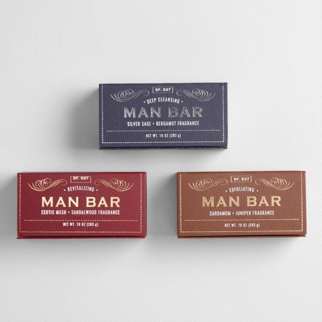 San Francisco Soap Company Exotic Musk and Sandalwood Man Bar