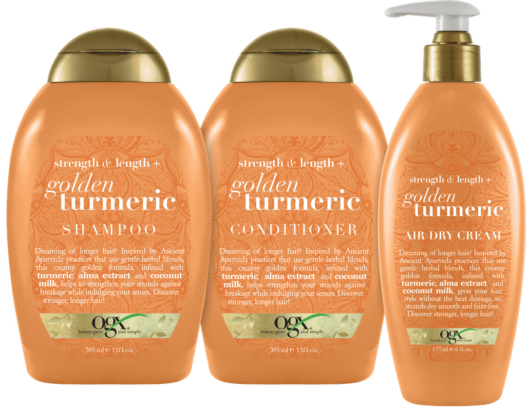 OGX Golden Turmeric Collection