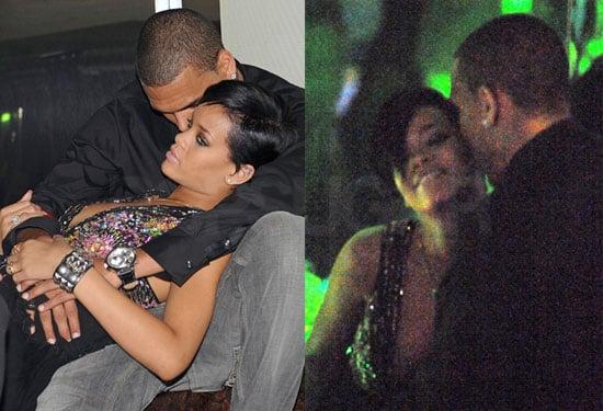 Rihanna Wants Chris's Lovey Dovey Kiss Kiss