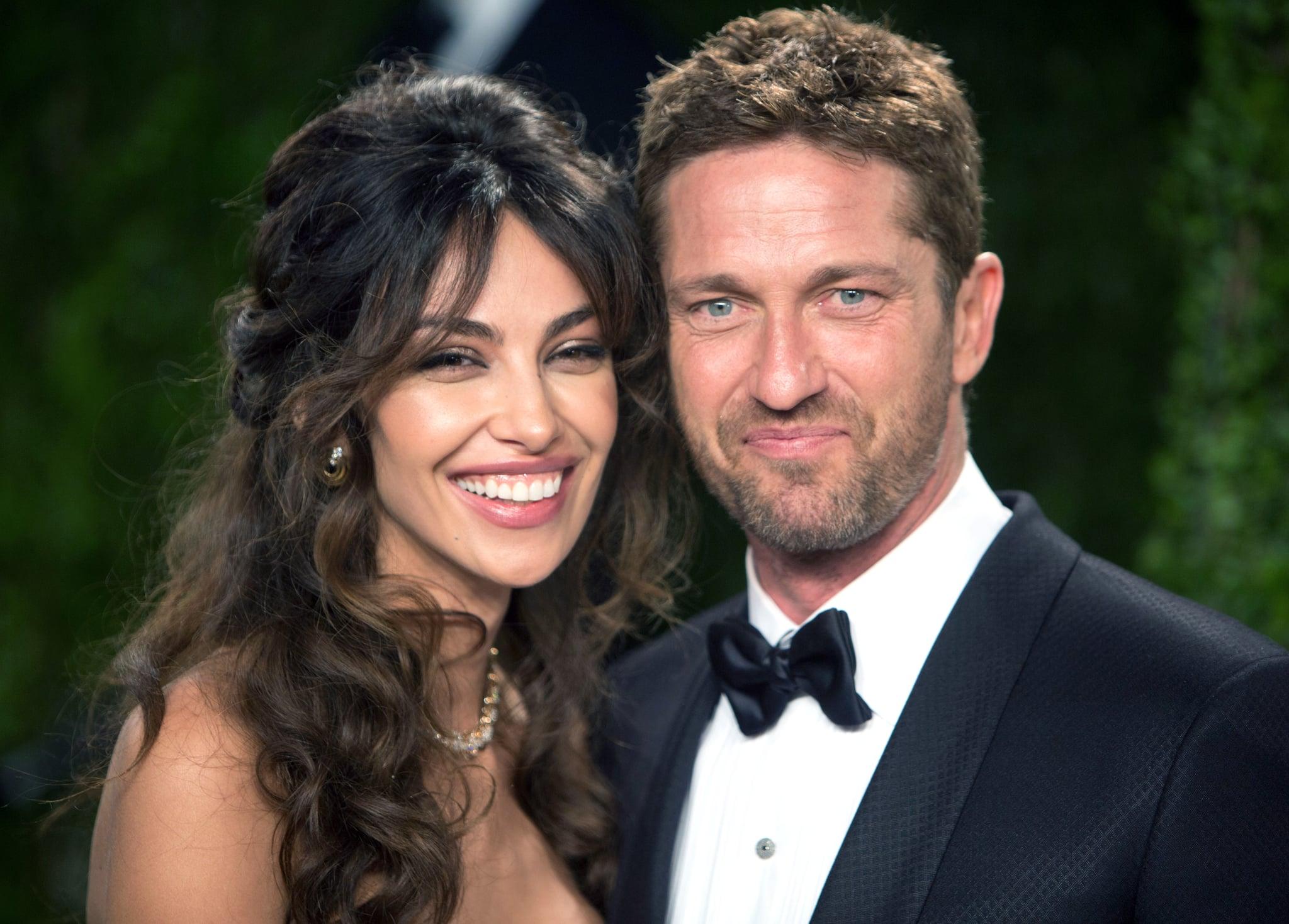 Gerard Butler and Madalina Ghenea   Oscar Couples Show the ...