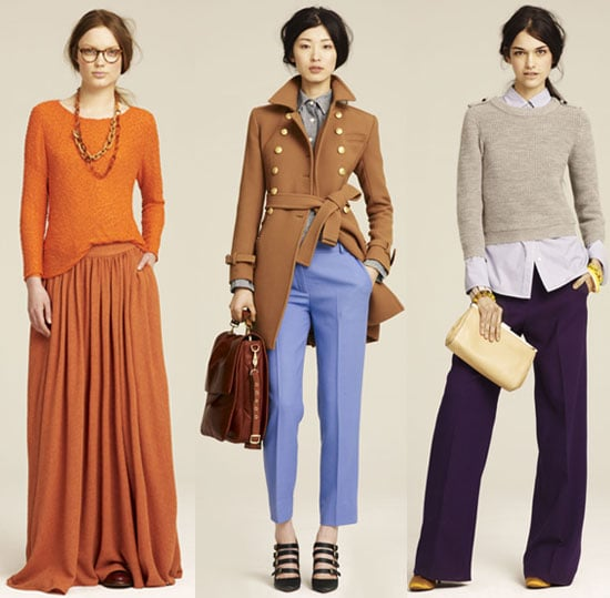 J.Crew Fall 2011 Collection Lookbook Photos: Trenches, Wide Legged Trousers - All The Winter Must Haves