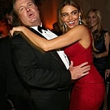 Sofia Vergara danced with Eric Stonestreet at the Fox afterparty.