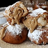 Fried Peanut Butter Crescent Rolls