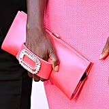 Viola Davis's Roger Vivier Pilgrim Jewels Clutch in 2018