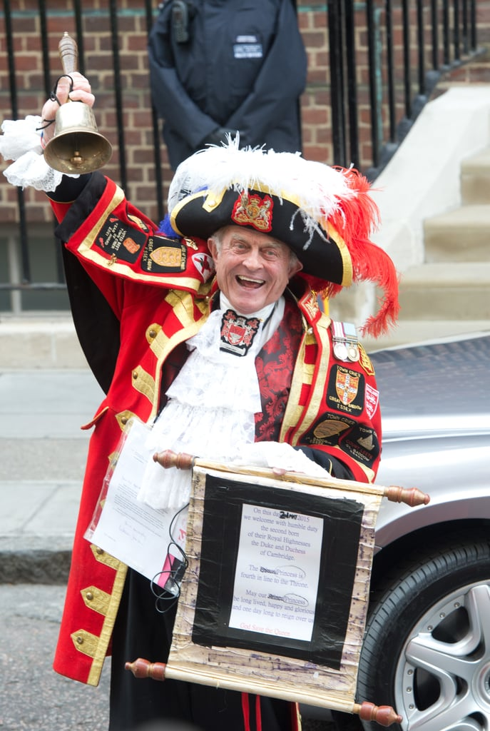 A Town Crier Announces the Birth to All of London
