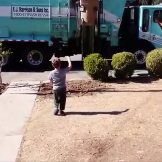 Garbage Man Gives Boy With Autism a Gift