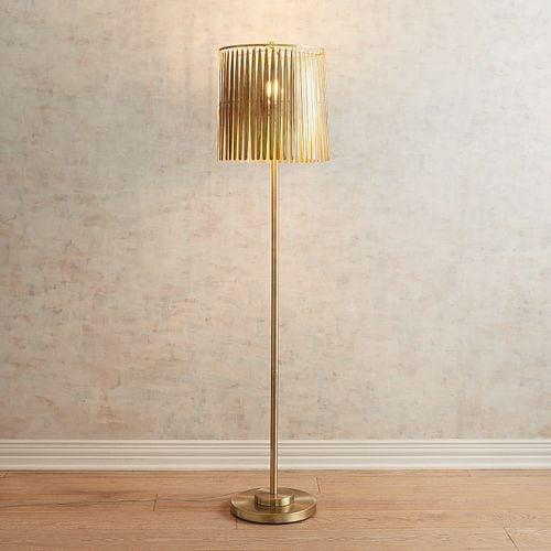 Golden Feather Floor Lamp