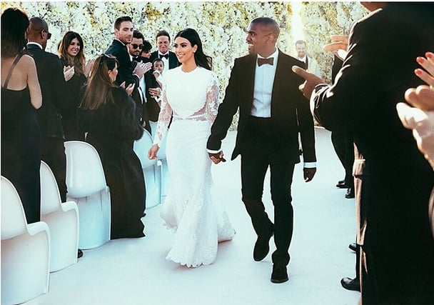Kim Kardashian Had Glowing Skin at Her Wedding