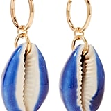 Aurelie Bidermann Merco Gold-Plated Shell Earrings