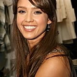 Jessica Alba With Side Bangs 2007