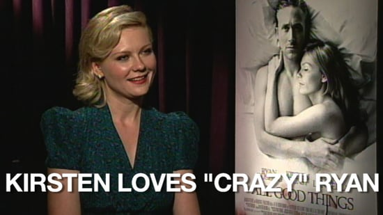 Video of Kirsten Dunst Talking About Ryan Gosling in All Good Things