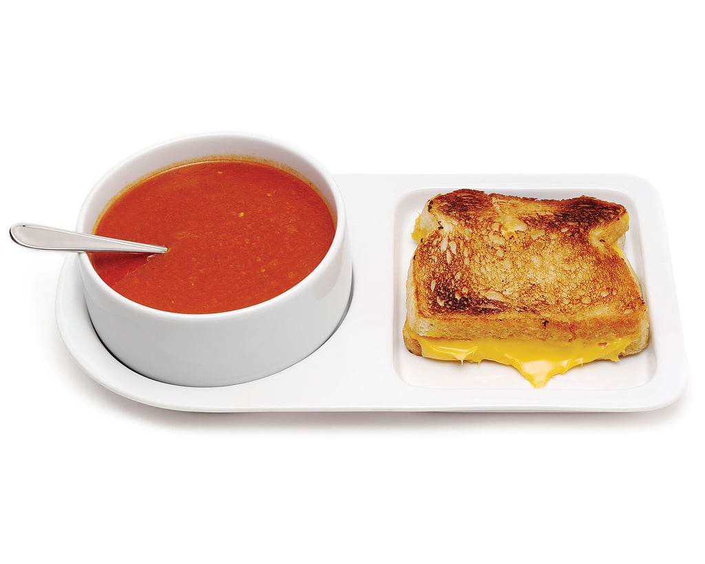 The king of the soup-and-sandwich order is sure to appreciate this fun soup and sandwich tray ($30).
