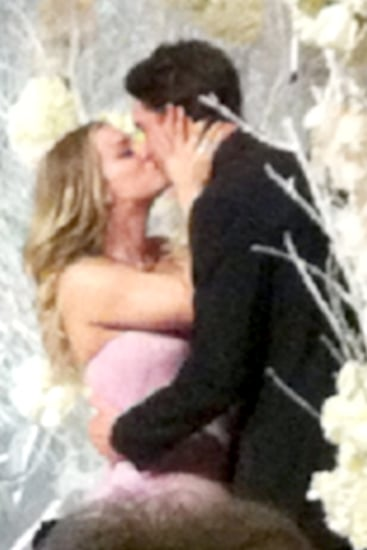 See Kaley Cuoco's Pink Dress and Sweet Wedding Photos
