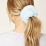 Forever 21 Faux Fur Hair Scrunchie