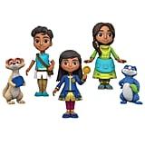 Disney Junior Mira, Royal Detective Mira & Friends Collector Figure Set